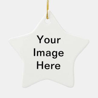 Stellen Sie Ihre eigene Stern-Verzierung her Keramik Ornament