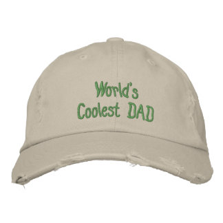 Stellen Sie Ihre eigene Vatertags-Baseball Bestickte Baseballkappen