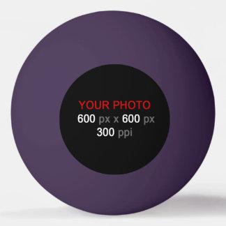 Stellen Sie Ihren eigenen lila Ping Pong Ball her Ping-Pong Ball