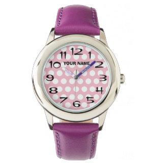 Stellen Sie Ihren eigenen weißen personalisierten Armbanduhr