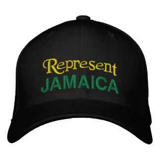 Stellen Sie Jamaika-Kappe dar Bestickte Kappe