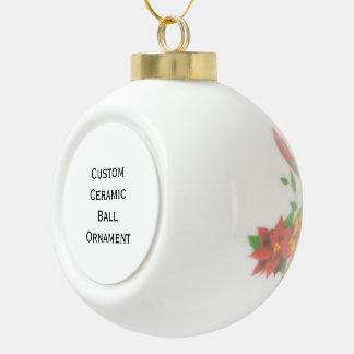 Stellen Sie kundenspezifische Keramik Kugel-Ornament