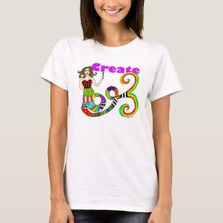 Stellen Sie Meerjungfrau her T-Shirt