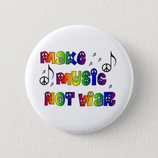 Stellen Sie Musikknopf her Runder Button 5,1 Cm
