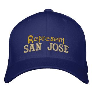 Stellen Sie San- Josekappe dar Bestickte Kappe