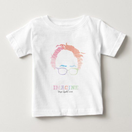 Stellen Sie sich Bernie-Sandpapierschleifmaschinen Baby T-shirt