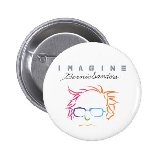 Stellen Sie sich Bernie-Sandpapierschleifmaschinen Runder Button 5,7 Cm