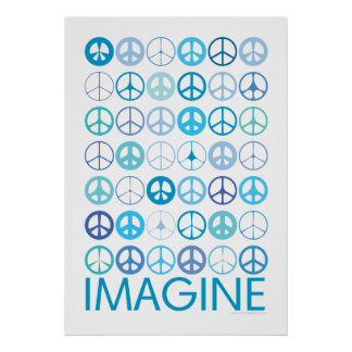 STELLEN Sie sich - blaue internationale Friedensze