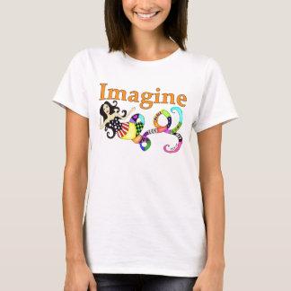Stellen Sie sich Meerjungfrau vor T-Shirt