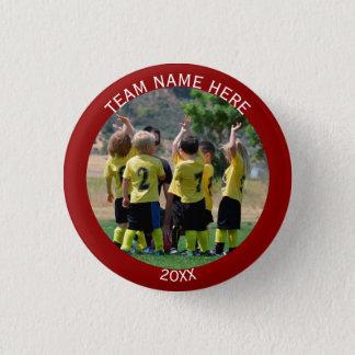 Stellen Sie Sport-Team-Foto her Runder Button 2,5 Cm