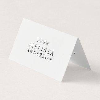 Stellenbezeichnung elegant visitenkarten