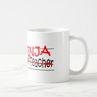 Stellenbezeichnung Ninja - Kindergarten Tchr Kaffeetasse
