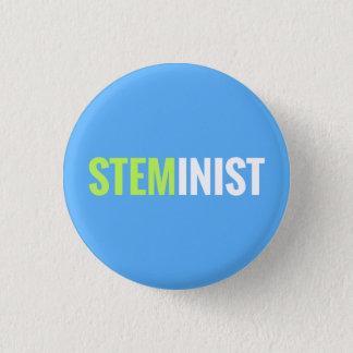 STEMinist Knopf Runder Button 3,2 Cm