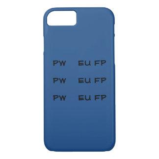 Steno PWEUFP PWEUFP PWEUFP Telefon-Hüllen - Blau iPhone 8/7 Hülle