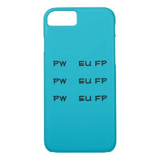 Steno PWEUFP PWEUFP PWEUFP Telefon-Hüllen iPhone 8/7 Hülle