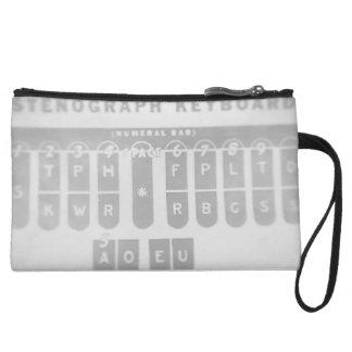 Stenograf Tastatur-Kupplung Kleine Clutch