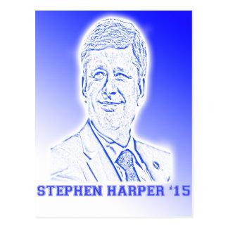 Stephen Harper '15 Postkarte