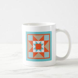 Steppdecken - Block Marthas Washington Kaffeetasse