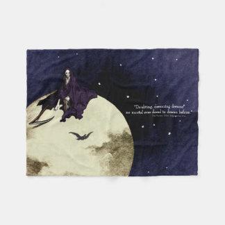 Sterblichkeit und der Mond Fleecedecke