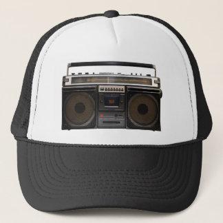 Stereoband der retro Kassettenrecorder-Musik Truckerkappe