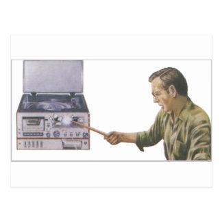 Stereolithographie-Zertrümmern Postkarte