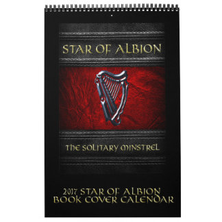 Stern 2017 des Albion Bucheinband-Kalenders Kalender