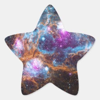 Stern-Aufkleber-Nebelfleck Stern-Aufkleber