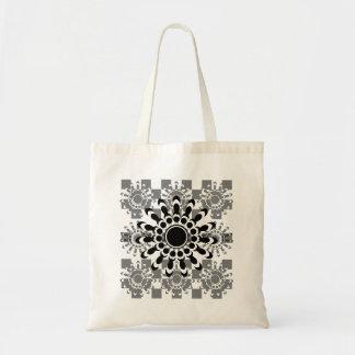 Stern-Blumen-Tasche Budget Stoffbeutel