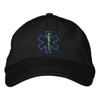 Stern der Leben-Kontur Bestickte Kappe