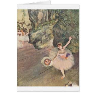 Stern des Balletts, entgasen Karte