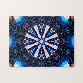 Stern formt Mandala