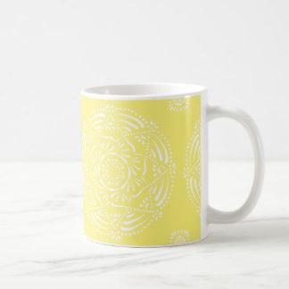 Stern-Frucht-Mandala Kaffeetasse
