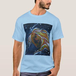 Stern-Gaffer-Pferd in den Sternen T-Shirt