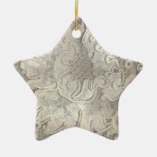 stern, LACE- antik spitze Keramik Ornament