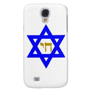 STERN-Od David u. Symbol des LEBENS Galaxy S4 Hülle