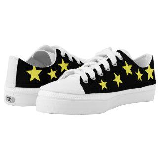 Stern-Schuhe Niedrig-geschnittene Sneaker