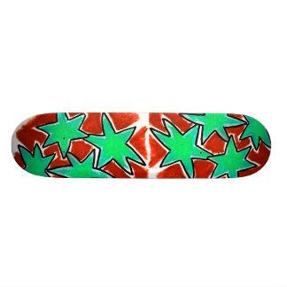 Stern-Skateboard Bedrucktes Skateboard