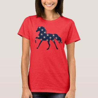 Stern Spangled PferdeShirt T-Shirt