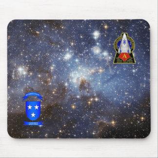 Stern-Sucher-Galaxie-Mausunterlage - Alphaflecken Mauspads