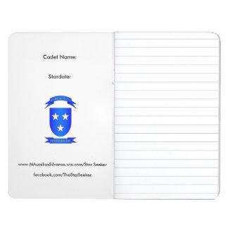 Stern-Sucher-Pfadfinder-Galaxie-Zeitschrift Taschennotizbuch