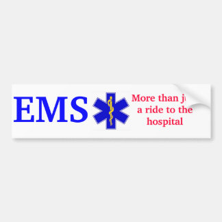 Stern-von-Leben-Gold, EMS, mehr als justa Fahrt zu Autoaufkleber