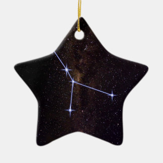 Stern-Zeichen-Krebs Keramik Ornament