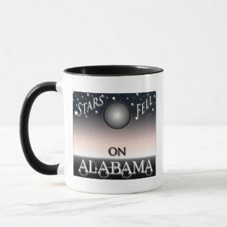 Sterne fielen auf Alabama Tasse