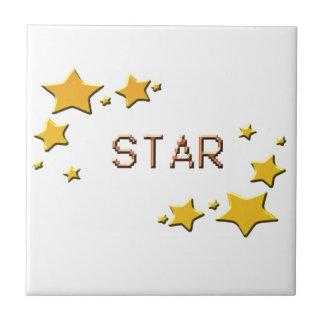 Sterne Fliese