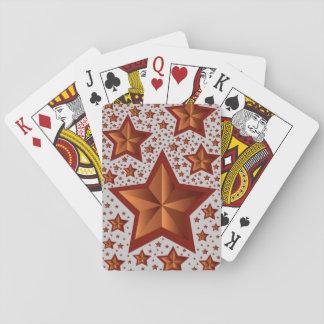 Sterne Pokerkarte