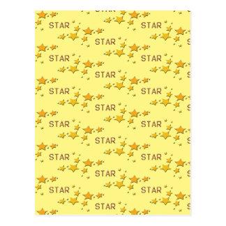 Sterne Postkarte