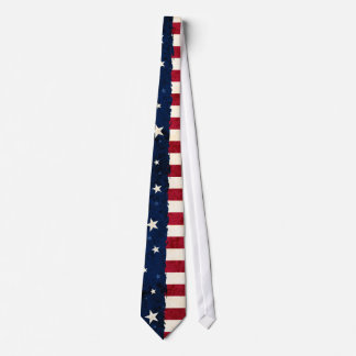 Sterne u. Streifen-Americanaart USA-Flagge Krawatte