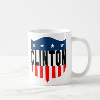Sterne u. Streifen Hillary Clinton Kaffeetasse