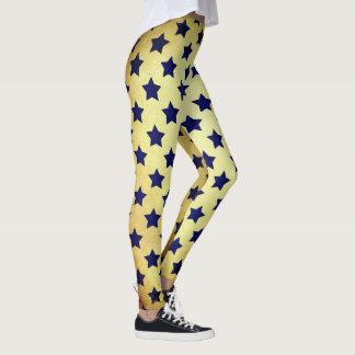 Sterne überall leggings