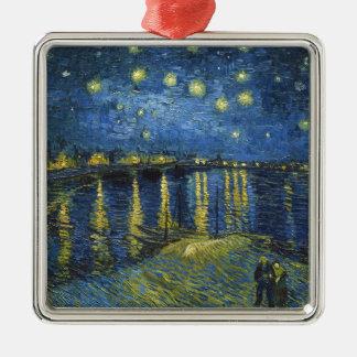 Sternenklare Nacht auf der Rhône durch Vincent van Silbernes Ornament